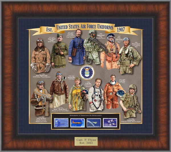 Air Force Uniform History