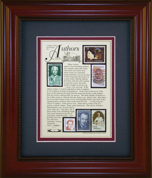 Author - Unique Framed Gift
