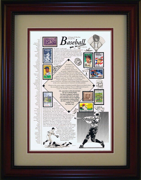 Baseball - Unique Framed Gift