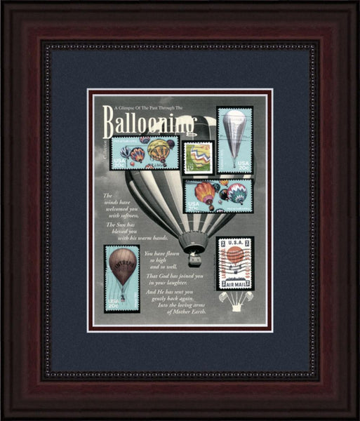 Ballooning - Unique Framed Gift