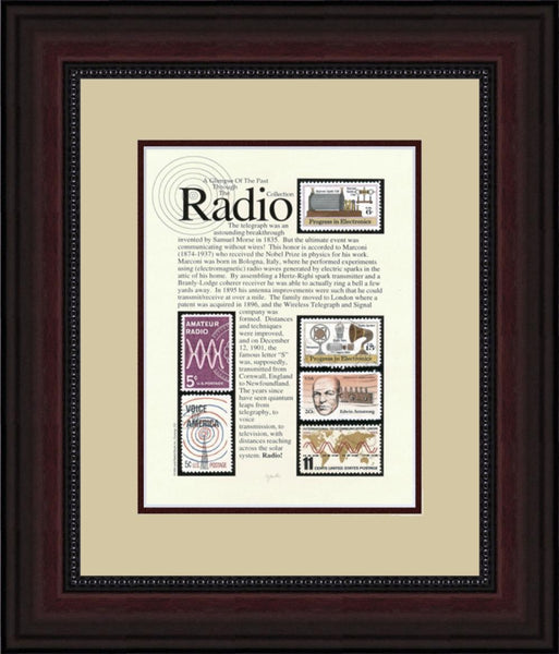 Radio - Unique Framed Gift