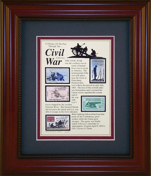 Civil War - Unique Framed Gift