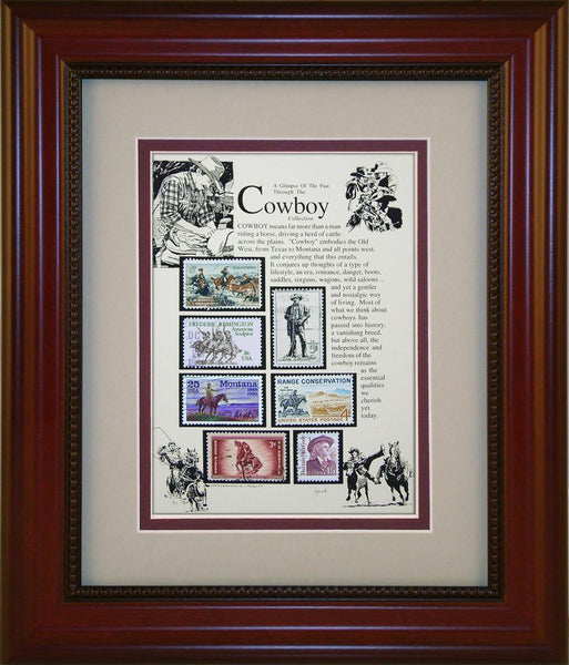 Cowboy - Unique Framed Gift