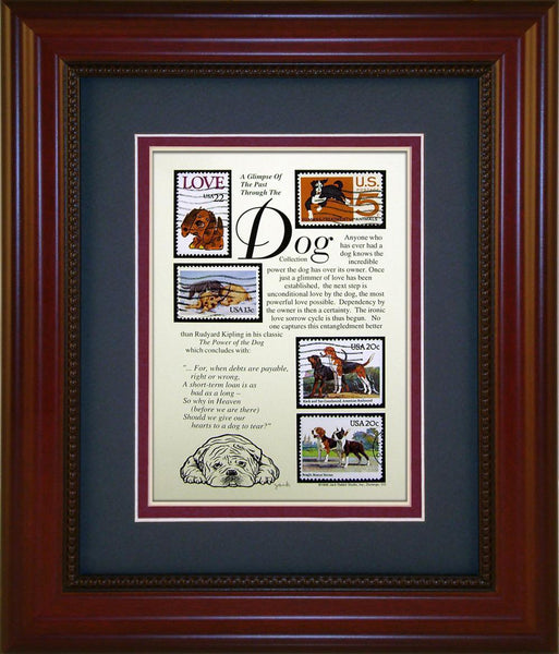 Dogs - Unique Framed Gift