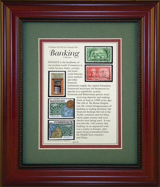 Banking - Unique Framed Gift