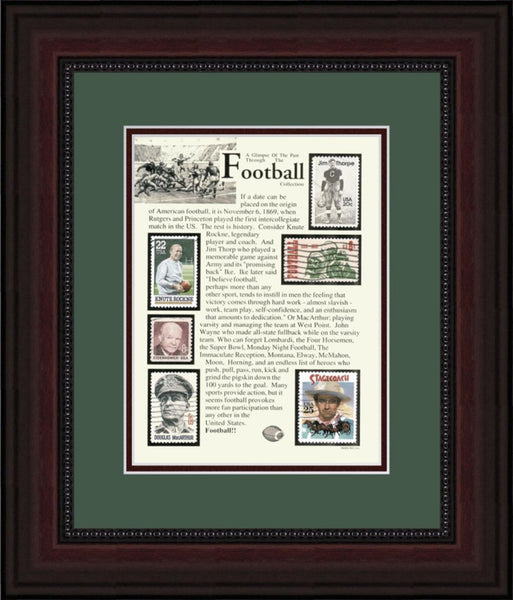 Football - Unique Framed Gift