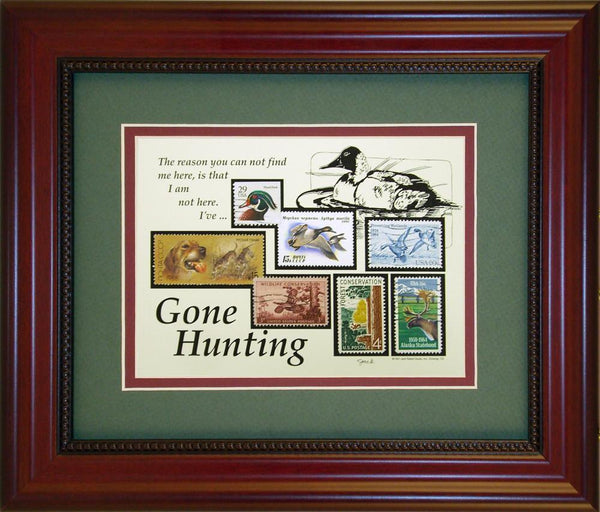Hunting - Unique Framed Gift