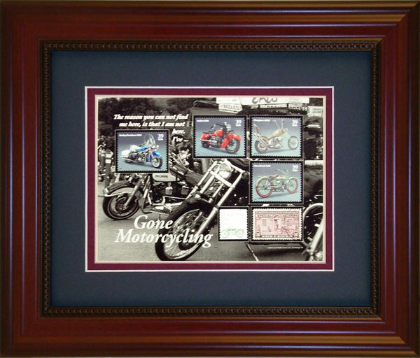 Motor Cycling - Unique Framed Gift