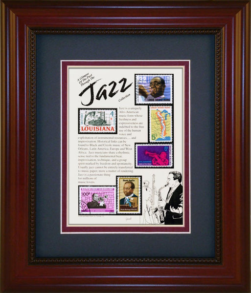 Jazz - Unique Framed Gift