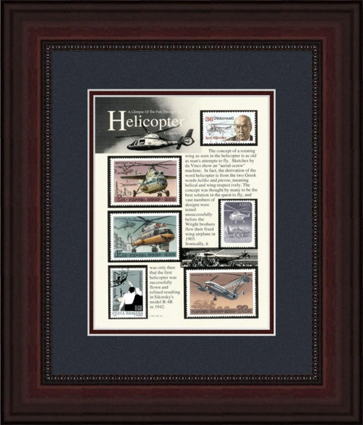 Helicopters - Unique Framed Gift