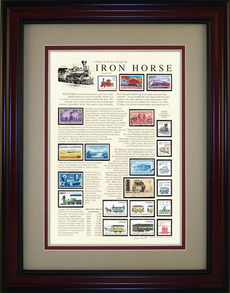 Iron Horse  - Unique Framed Gift
