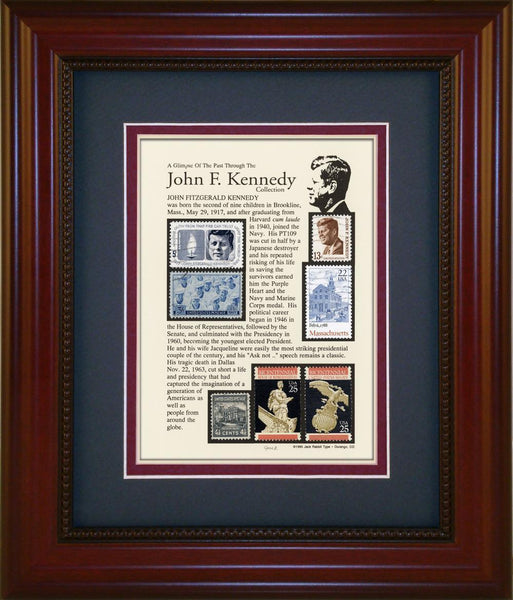 John F. Kennedy  - Unique Framed Gift