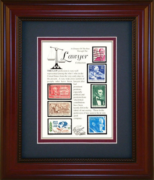 Lawyer - Unique Framed Gift