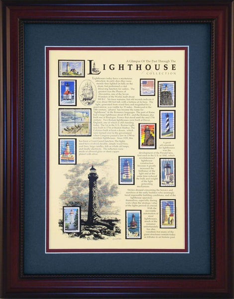 Lighthouse - Unique Framed Gift