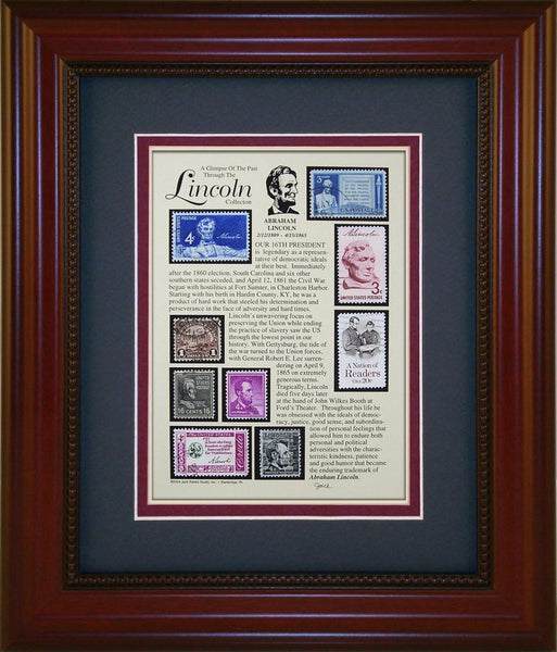 Abraham Lincoln  - Unique Framed Gift