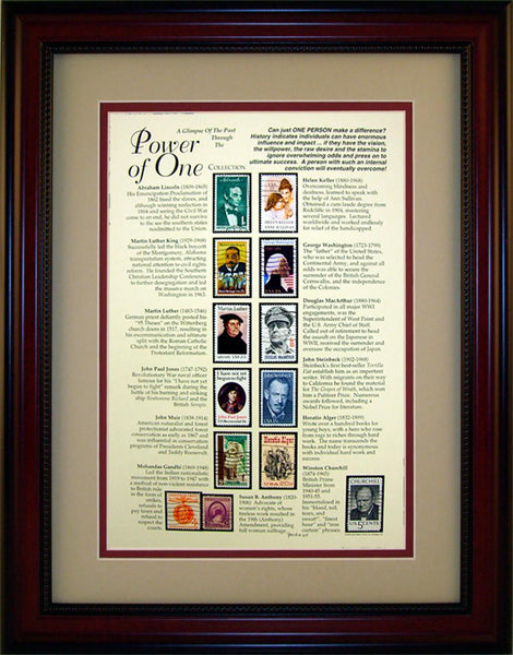 Power of One - Unique Framed Gift