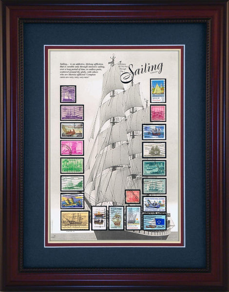 Sailing - Unique Framed Gift