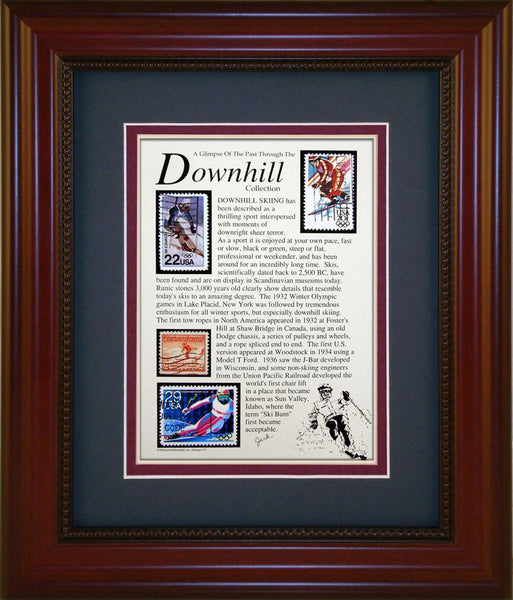 Downhill - Unique Framed Gift