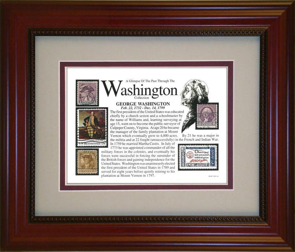 George Washington - Unique Framed Gift