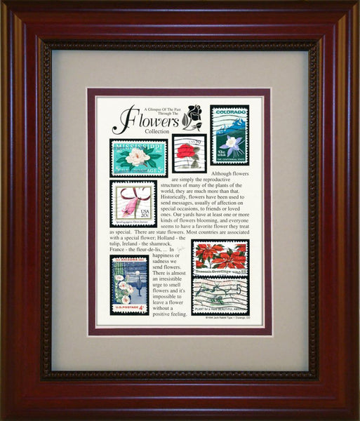 Flowers - Unique Framed Gift