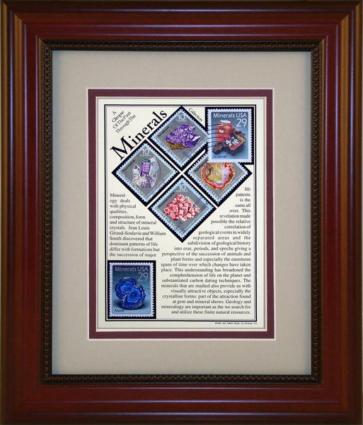Minerals - Unique Framed Gift