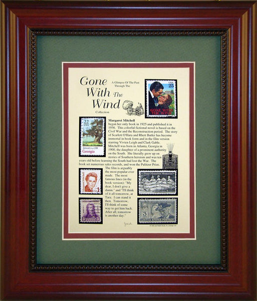 Gone with The Wind - Unique Framed Gift