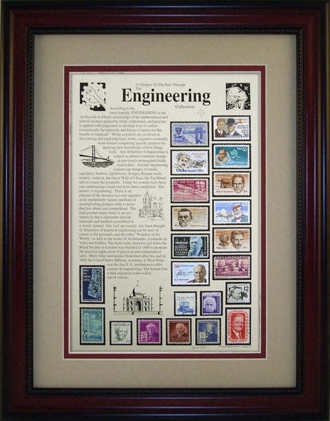 Engineering  - Unique Framed Gift