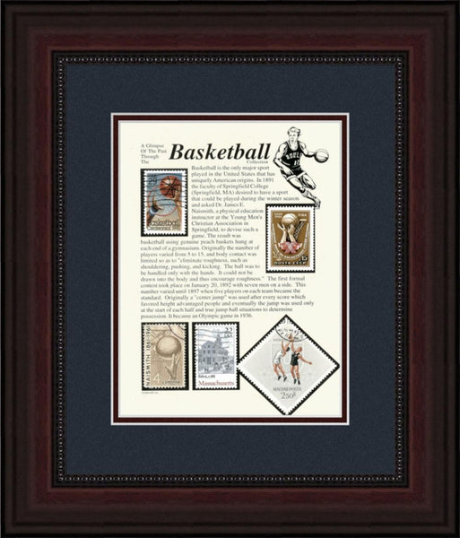Basketball - Unique Framed Gift