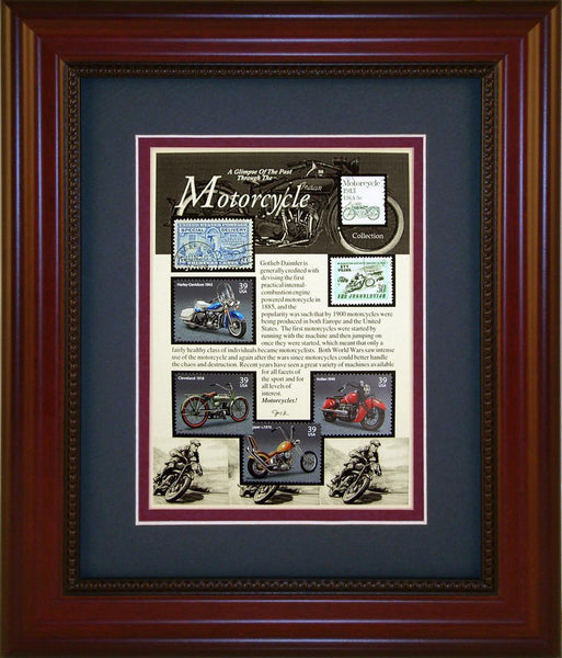 Motorcycle - Unique Framed Gift