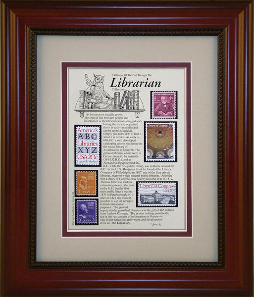 Librarian - Unique Framed Gift