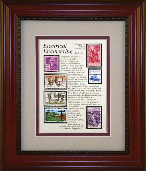 Electrical Engineering - Unique Framed Gift
