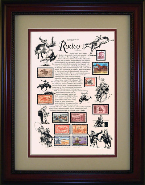 Rodeo - Unique Framed Gift