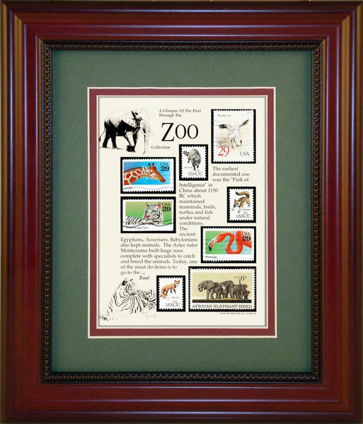Zoo - Unique Framed Gift