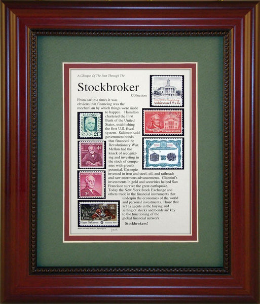 Stockbroker - Unique Framed Gift