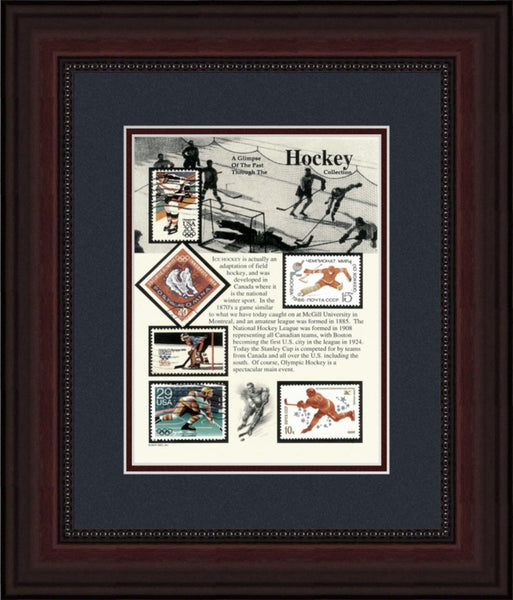 Hockey - Unique Framed Gift