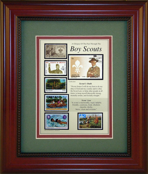 Boy Scouts - Unique Framed Gift