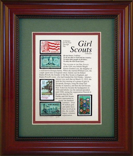 Girl Scouts - Unique Framed Gift