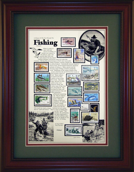 Fishing - Unique Framed Gift