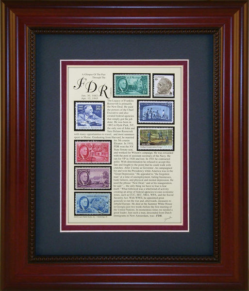 Franklin D. Roosevelt - Unique Framed Gift