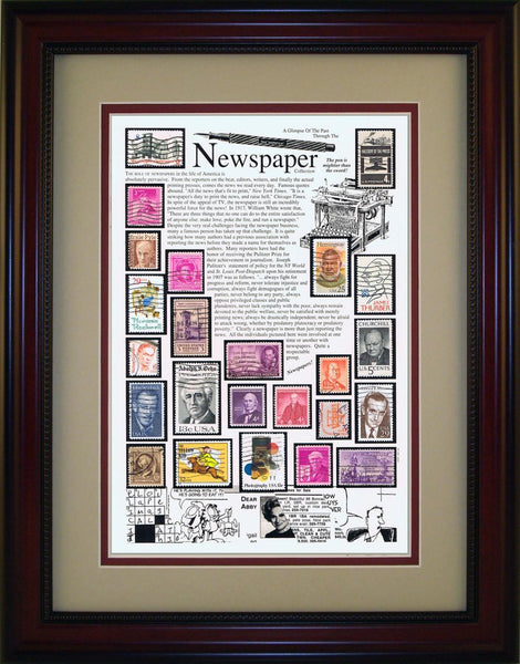 Newspaper - Unique Framed Gift