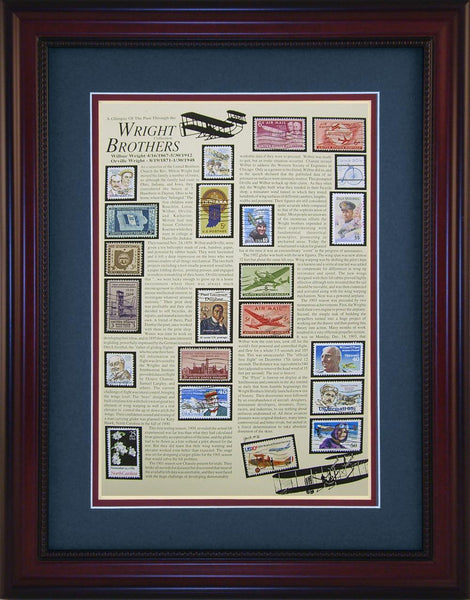 Wright Brothers - Unique Framed Gift