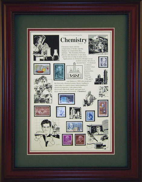 Chemistry - Unique Framed Gift