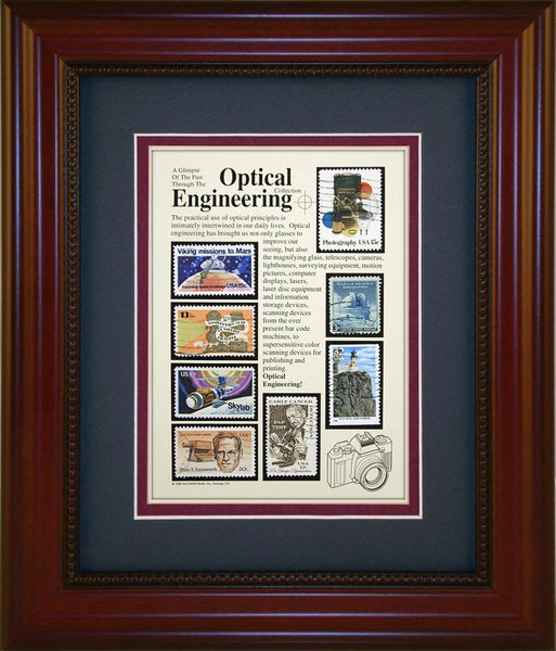 Optical Engineering - Unique Framed Gift