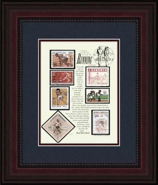 Running - Unique Framed Gift