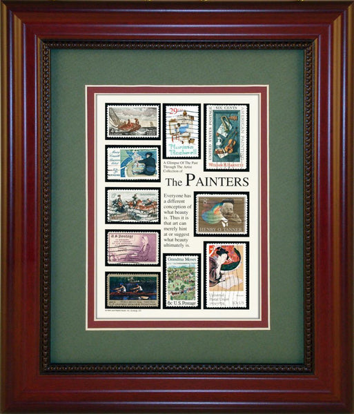 The Painters - Unique Framed Gift