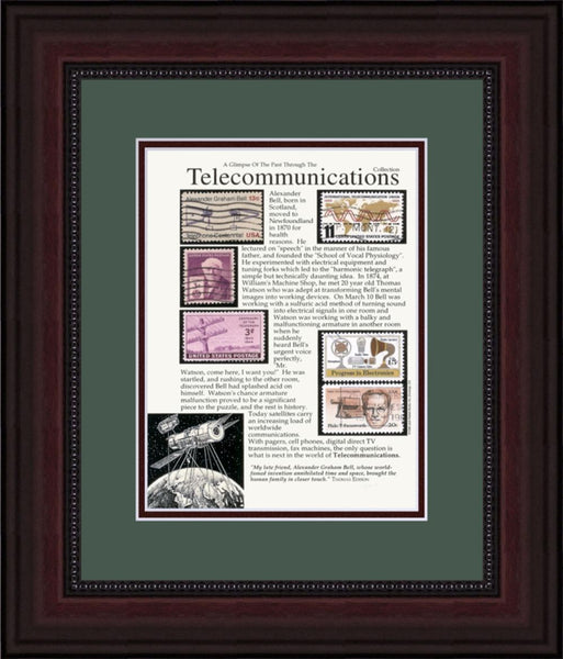 Telecommunications - Unique Framed Gift