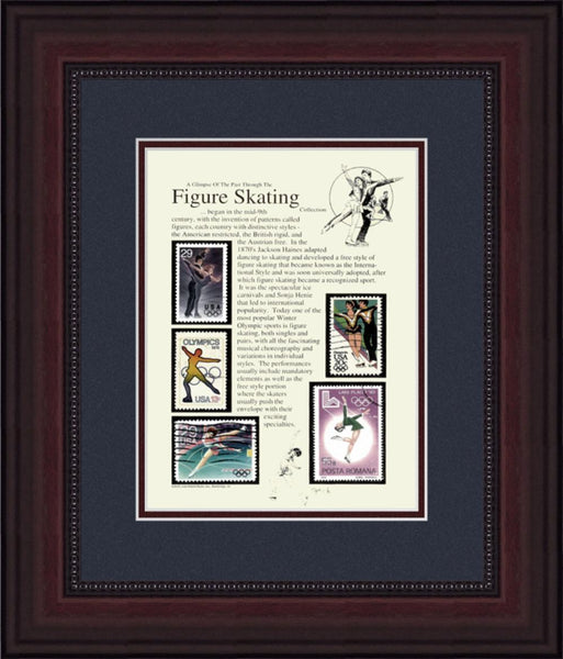 Figure Skating - Unique Framed Gift
