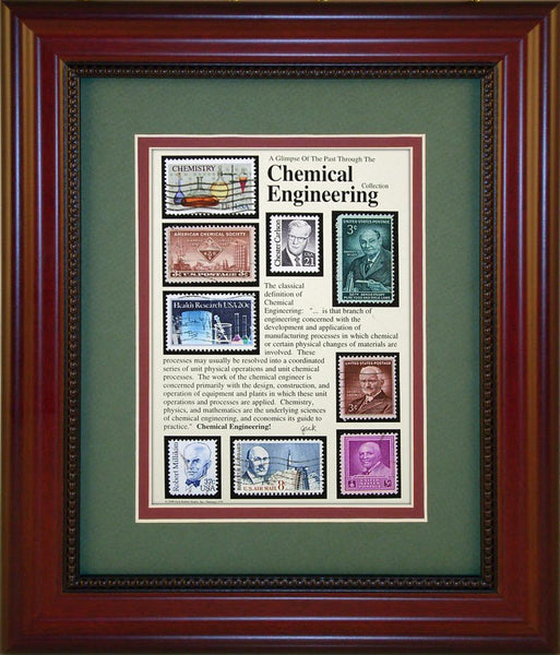Chemical Engineering - Unique Framed Gift