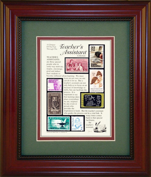 Teacher's Assistant - Unique Framed Gift