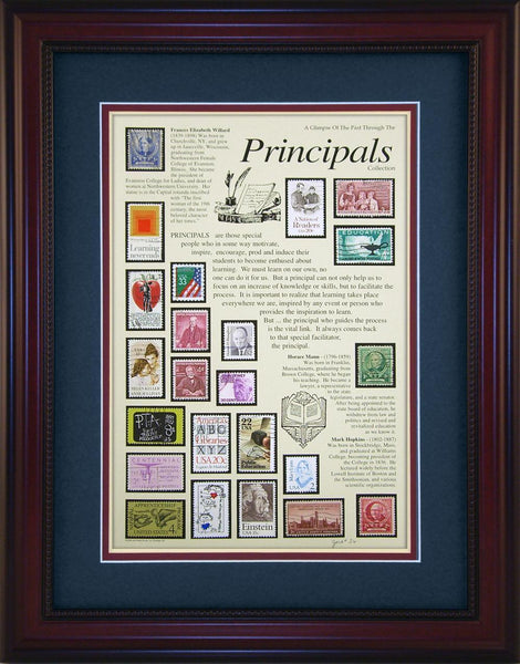 Principals - Unique Framed Gift